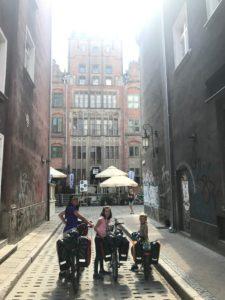 Na starówce w Gdańsku